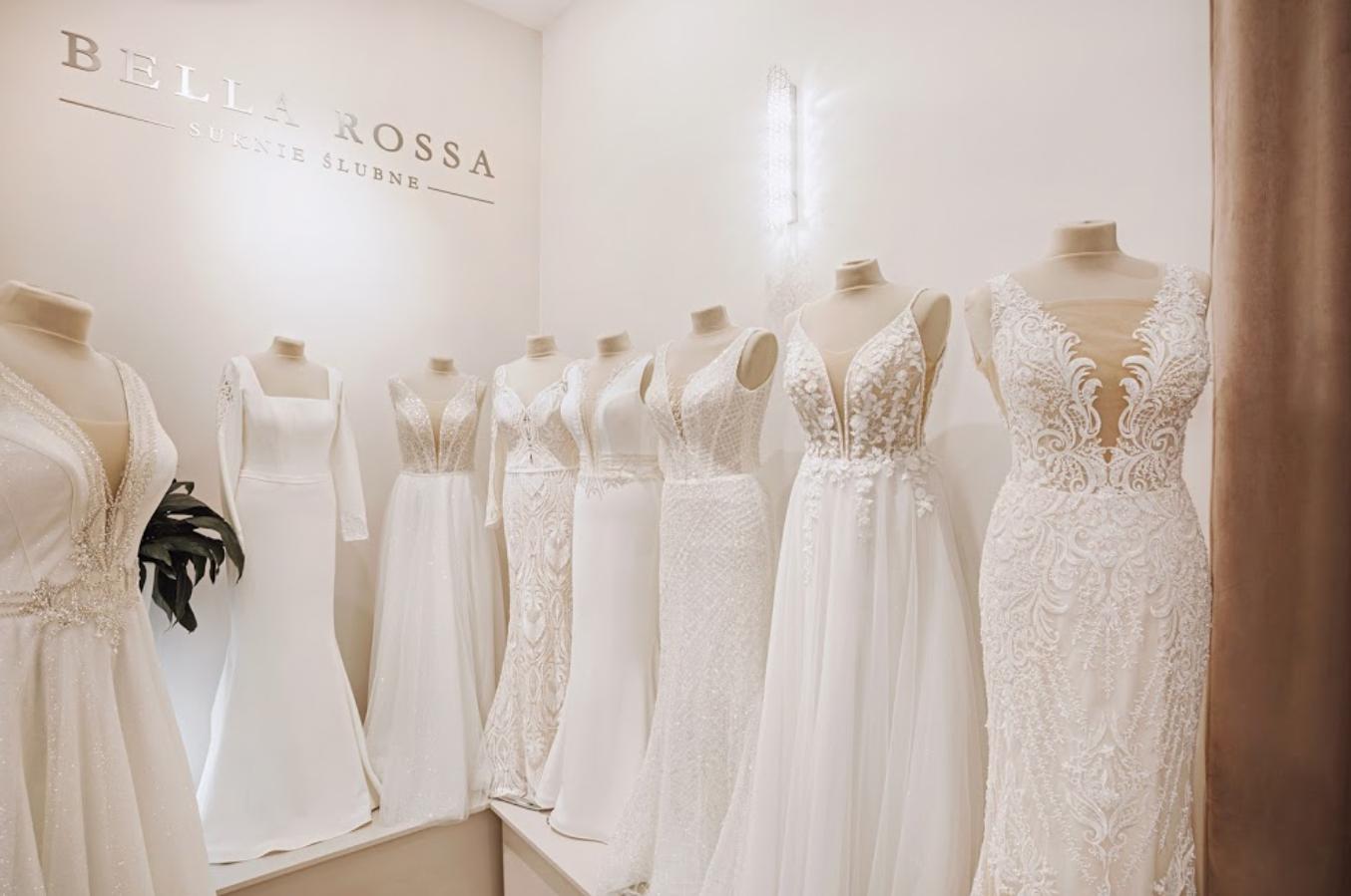 Salon sukien ślubnych Bella Rossa w Krakowie